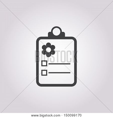 pad icon on white background for web