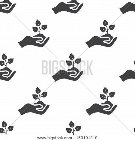 germ icon on white background for web