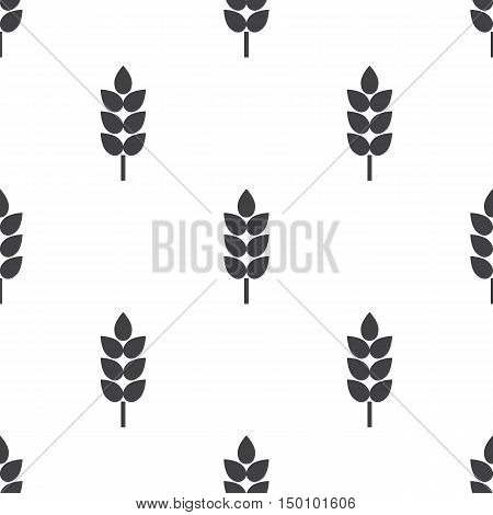wheat icon on white background for web