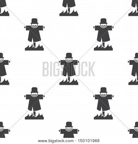 scarecrow icon on white background for web