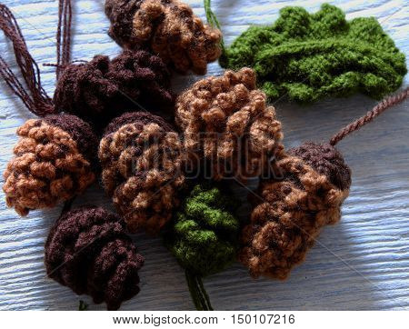 Pinecone, Christmas Ornament For Xmas Holiday