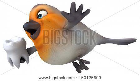 Red robin - 3D Illustration