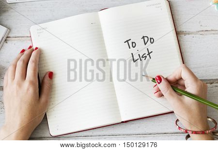 To Do List Planner Concept