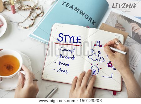 Style Creativity Simplicity Design Concept