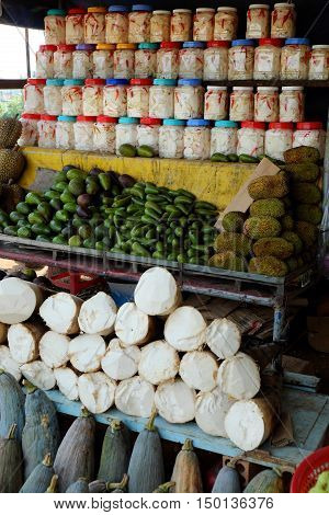 Vietnamese Food Store, Outdoor Farmer Market