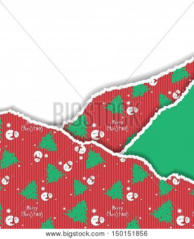 Unusual Christmas material design vector background. Geometric shapes. Eps10 vector illustration