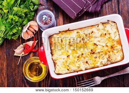 Cauliflower Baked With Egg