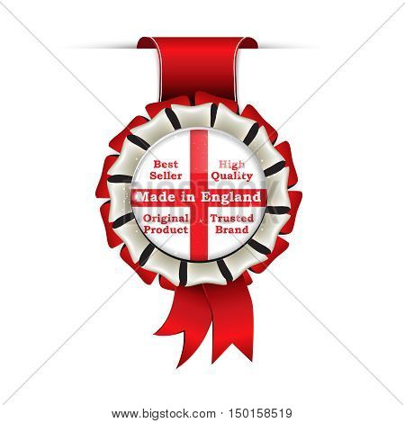 Made in England, best seller, high quality, Original Product, Trusted Brand -  award ribbon for retail sector / sellers