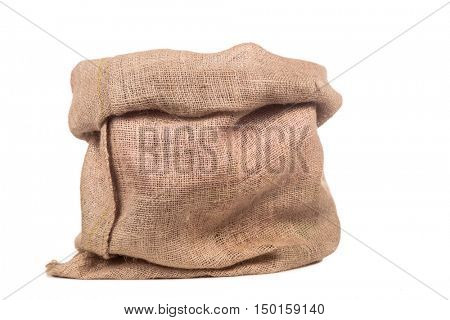 Empty burlap or jute bag. This sack is also use for sinterklaas event.
