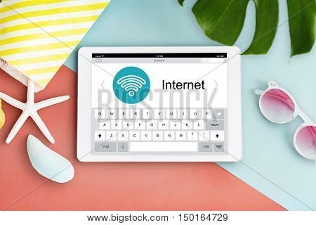 Connecting Internet Network Wifi Concept