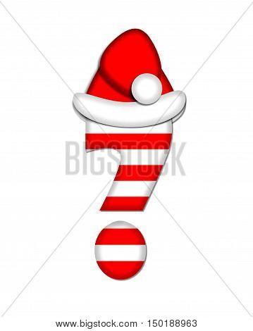 Alphabet Christmas Candy Cane Question