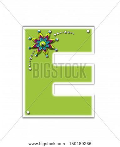 Alphabet Metallica E Image & Photo (Free Trial)   Bigstock
