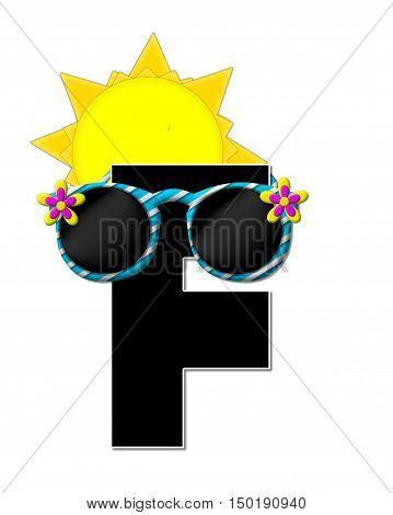 Alphabet Sun Shades F