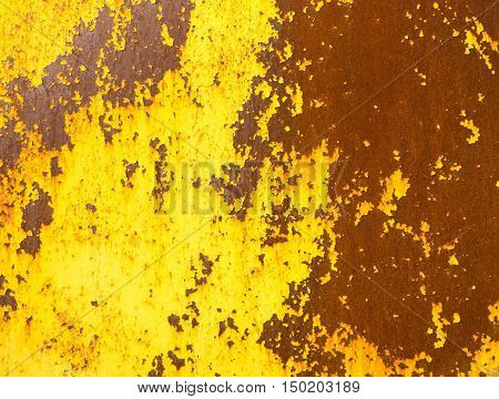 Close up metal rot grunge texture background.