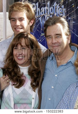 Beau Bridges at the Los Angeles premiere of 'Charlotte's Web' held at the ArcLight Cinemas in Hollywood, USA on December 10, 2006.