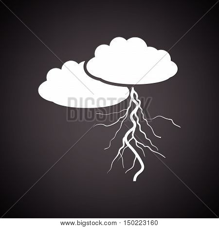 Clouds And Lightning Icon