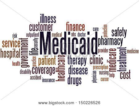 Medicaid, Word Cloud Concept 8