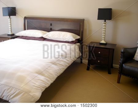 Bedroom Wooden Bed