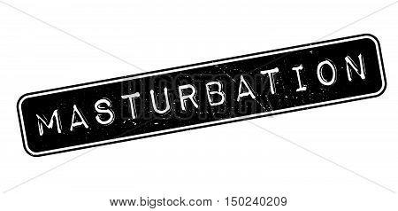 Masturbation Rubber Stamp