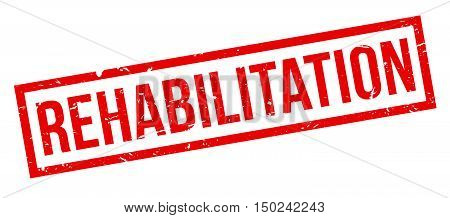 Rehabilitation Rubber Stamp