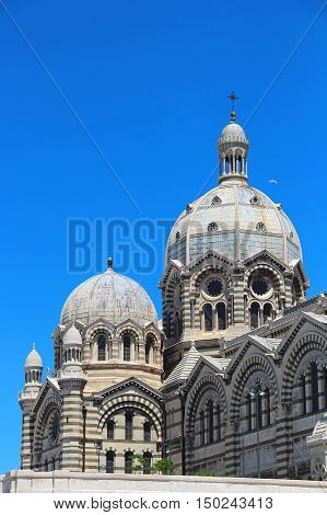 Marseille Cathedral of Saint Mary Major (Sainte Marie Majeure), France