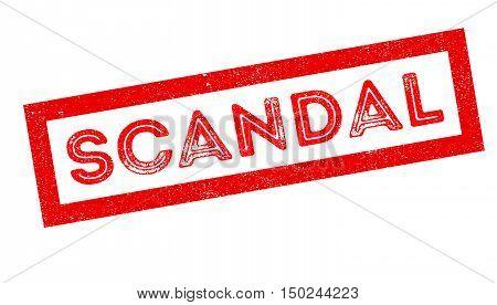 Scandal Rubber Stamp