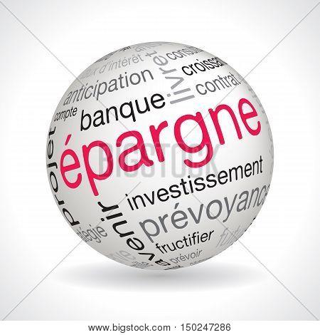 French Savings Theme Sphere