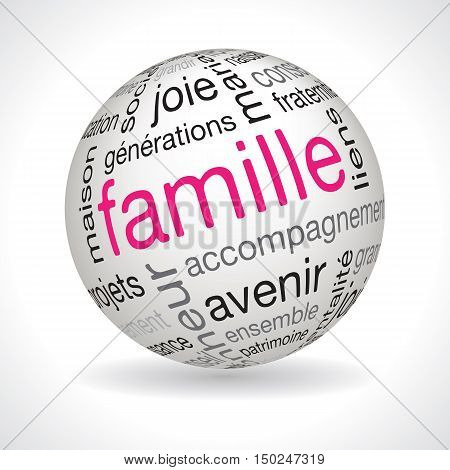 French Family Theme Sphere