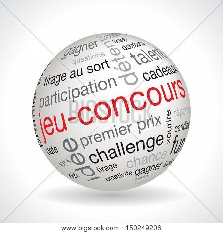 French Contest Theme Sphere