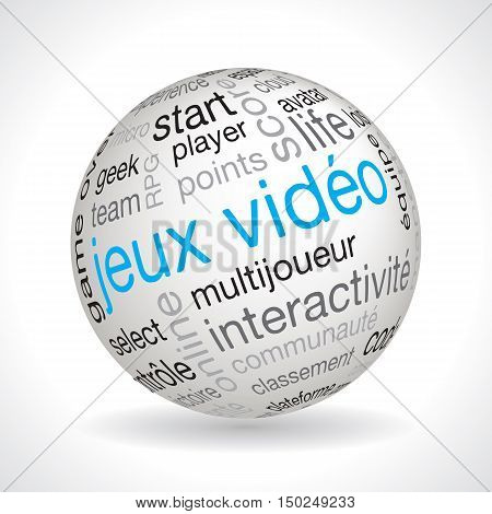 French Video Games Theme Sphere