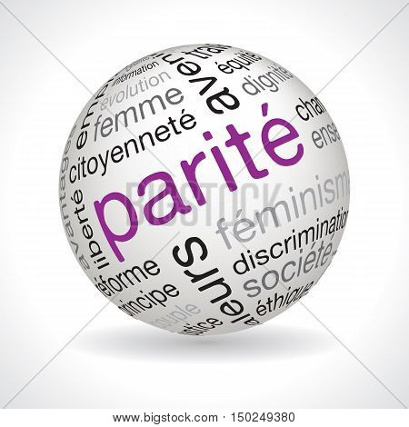 French Parity Theme Sphere