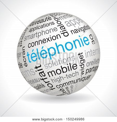 French Telephony Theme Sphere