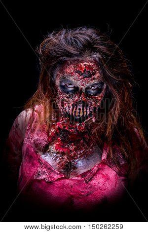 Scary Zombie Girl