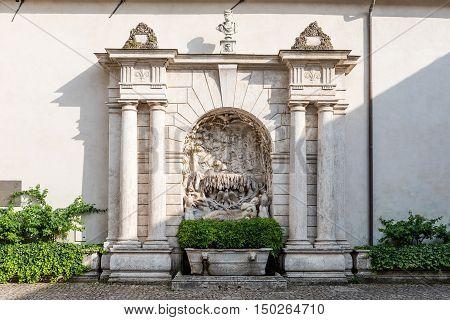 Fountain Of Sleeping Venus, Villa D'este, Tivoli, Italy