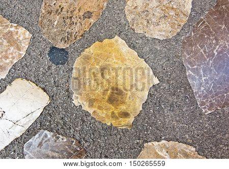 Pavement Brecchia Stone