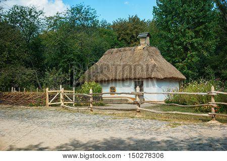 Traditional Ukrainian House
