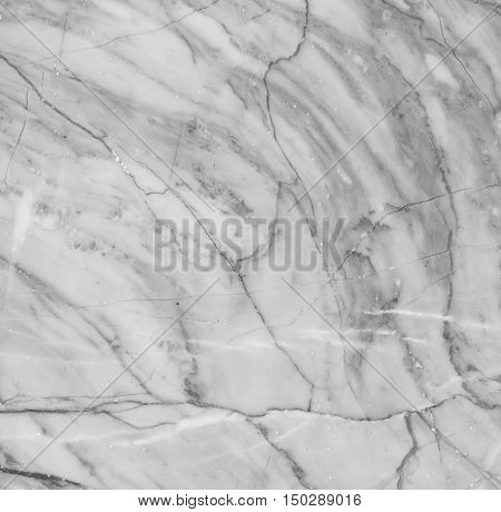 White marble patterned texture background. Marbles of Thailand, Black and white.