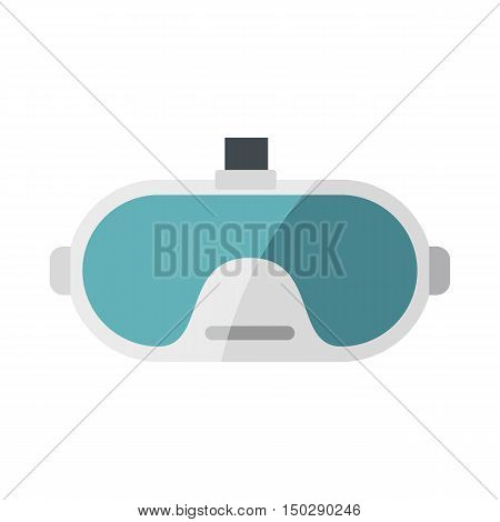 Virtual reality glasses in flat style. Vector illustration