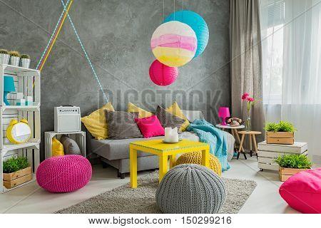 Colorful Home Decor Idea