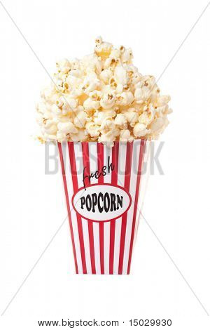 Popcorn Container overflowing