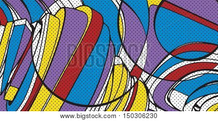 contemporary art design, abstract background