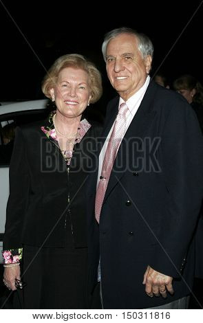 Garry Marshall with wife Barbara at the Los Angeles Free Clinic's 29th Annual Dinner Gala at the Regent Beverly Wilshire in Beverly Hills, USA on November 21, 2005.