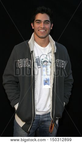 Tyler Hoechlin at the 2005 Hollywood Christmas Parade held at the Hollywood Roosevelt Hotel in Hollywood, USA on November 27, 2005.