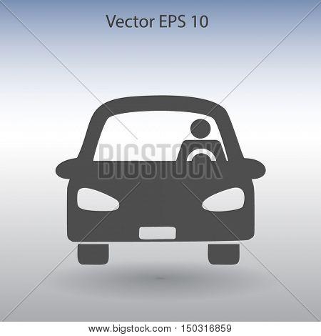 driver vector icon