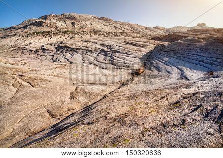 Rock Desert Landscape