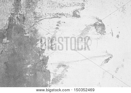 Vintage or grungy white background of natural cement or stone old texture as a retro pattern wall. It is a concept or metaphor wall banner grunge material aged rust or construction.