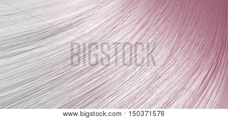 Hair Blowing Closeup