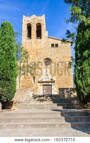 Sant Pere Church In Pals, Spain