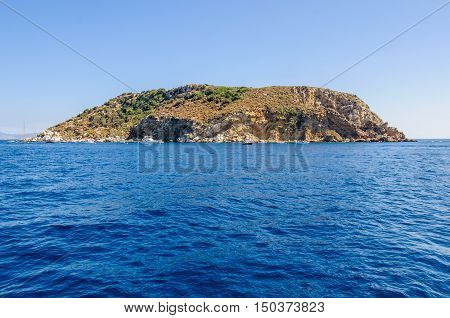 Medes Islands Near Estartit In Spain