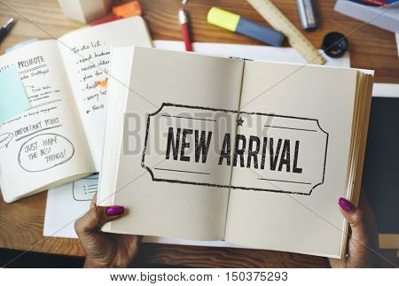 New Arrival Current Recent Latest Modern Concept